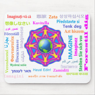 IMAGINE  - Major World Languages Mousepads
