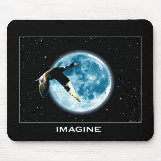 IMAGINE Mallard Moon Series Mouse Pad