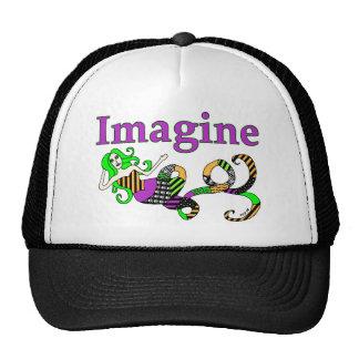 Imagine Mermaid Halloween Edition Trucker Hat