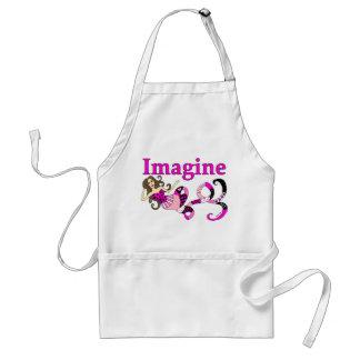 Imagine Mermaid Pink Edition Adult Apron