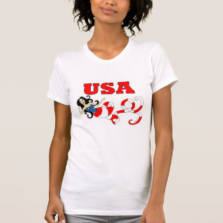 Imagine Mermaid USA Shirts