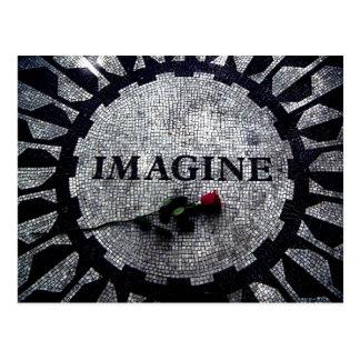 Imagine Monument Postcard