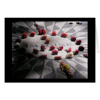 Imagine Mosaic Central Park Card