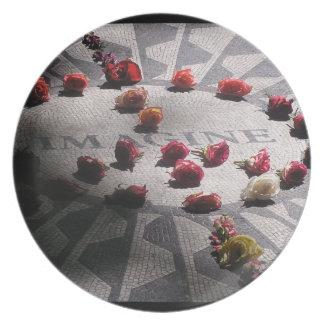 Imagine Mosaic Central Park Dinner Plate