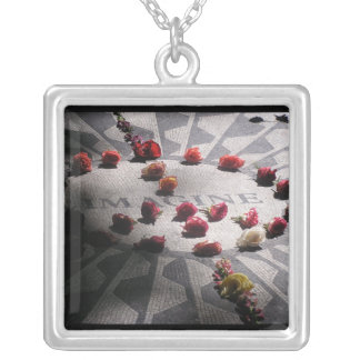 Imagine Mosaic Central Park Silver Plated Necklace
