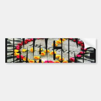 Imagine Mosaic T-Shirt Bumper Sticker