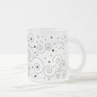 Imagine 10 Oz Frosted Glass Coffee Mug