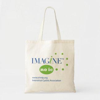 Imagine No IC Budget Tote Bag