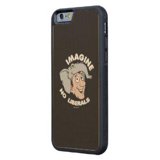 Imagine No Liberals Carved® Maple iPhone 6 Bumper