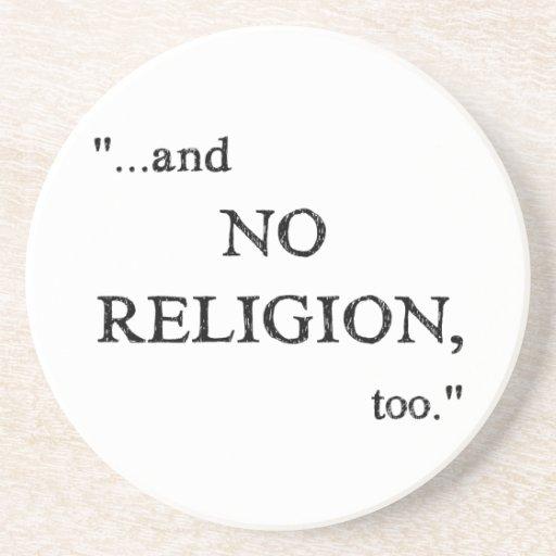 Imagine No Religion Beverage Coaster