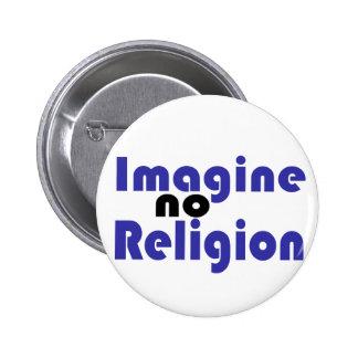 Imagine no Religion Pins