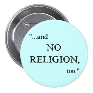 Imagine No Religion Button