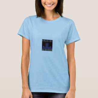 Imagine No Religion ladies fitted shirt
