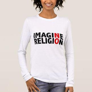Imagine No Religion Long Sleeve T-Shirt