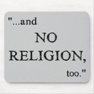 Imagine No Religion Mouse Pad