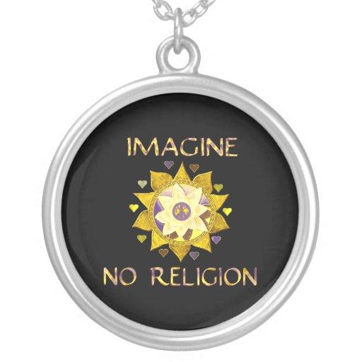 Imagine No Religion Jewelry