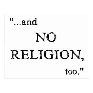 Imagine No Religion Postcard
