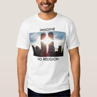 Imagine, No Religion Tee Shirt