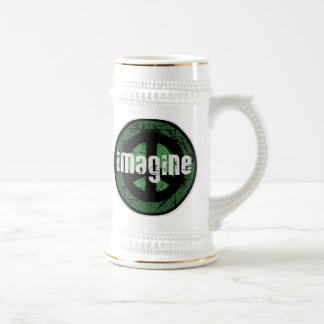 Imagine Peace Beer Stein