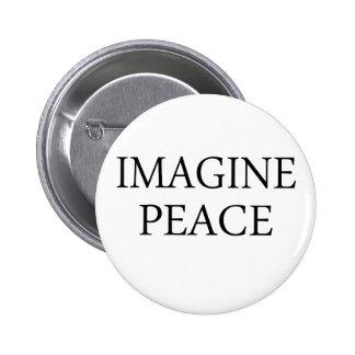 Imagine Peace Pins