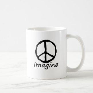 Imagine Peace Coffee Mugs