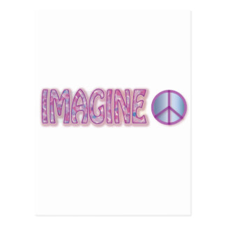 Imagine Peace Gift Postcard