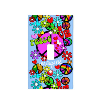 Imagine Peace Light Switch Cover