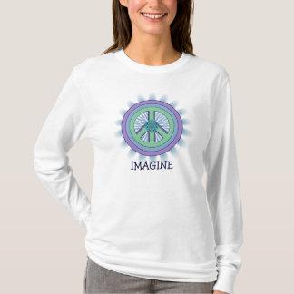Imagine Peace Lotus T-Shirt