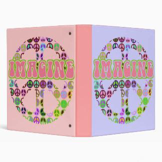 Imagine Peace Notebook Binder