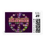 Imagine Peace Postage Stamp