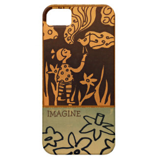 Imagine, Phone cover design by Kelly Primitives