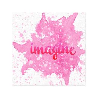 Imagine Pink Wall Art