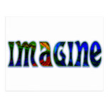 Imagine Postcard