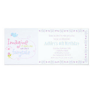 Imagine Princess Invitation
