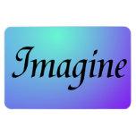 Imagine Purple Magnet