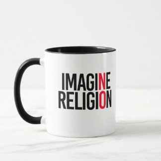 IMAGINE RELIGION - NO - - Pro-Science - Mug