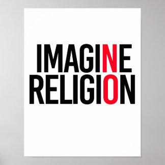 IMAGINE RELIGION - NO - - Pro-Science - Poster