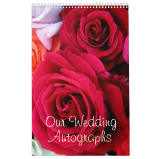 imagine Roses Wedding Calendar