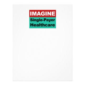 Imagine Single Payer Healthcare Letterhead