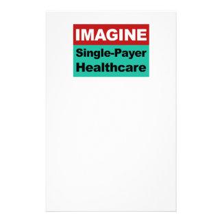 Imagine Single Payer Healthcare Stationery