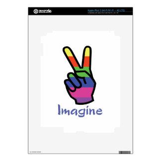 IMAGINE DECALS FOR iPad 3