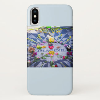 Imagine Strawberry Fields NYC iPhone X Case