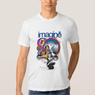 Imagine - Test Image to Test Printing Quality Tee Shirt