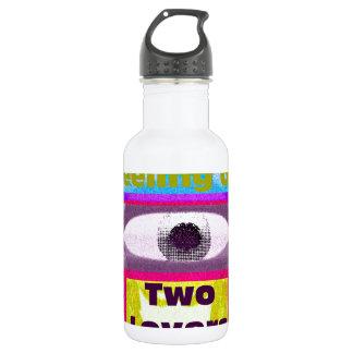 Imagine the feeling of 2 lovers 18oz water bottle