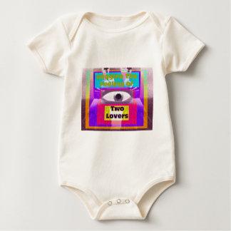 Imagine the feeling of 2 lovers baby bodysuit
