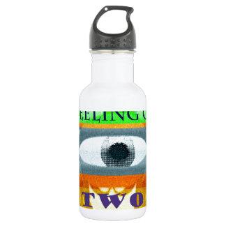Imagine the feeling of two lovers water bottle