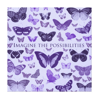 Imagine the possibilities gallery wrapped canvas