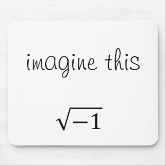 Imagine This Number Mouse Pad