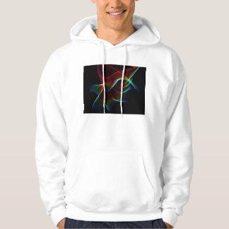Imagine, Through the Abstract Rainbow Veil Hoodie