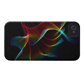 Imagine, Through the Abstract Rainbow Veil iPhone 4 Cover